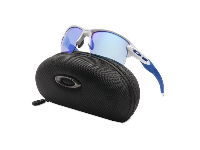 09086deceee Oakley Flak 2.0 XL Sunglasses Team Colors OO9188-20 Polished White   Sapphire  Iridium