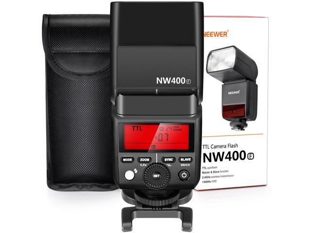 Neewer 2 4G Wireless TTL Speedlite Flash HSS 1/8000s GN36 with Hard  Diffuser for Fujifilm X-Pro2, X-T20, X-T2, X-T1, X-Pro1, X-T10, X-E1, X-A3,  X100F,
