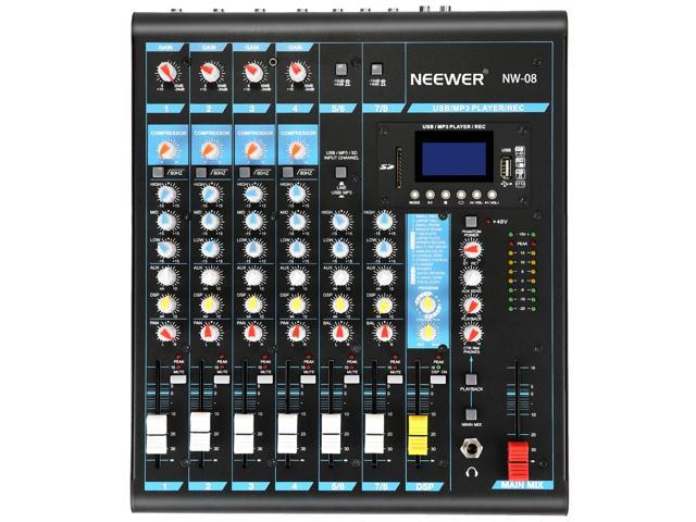 consolle mixare computer