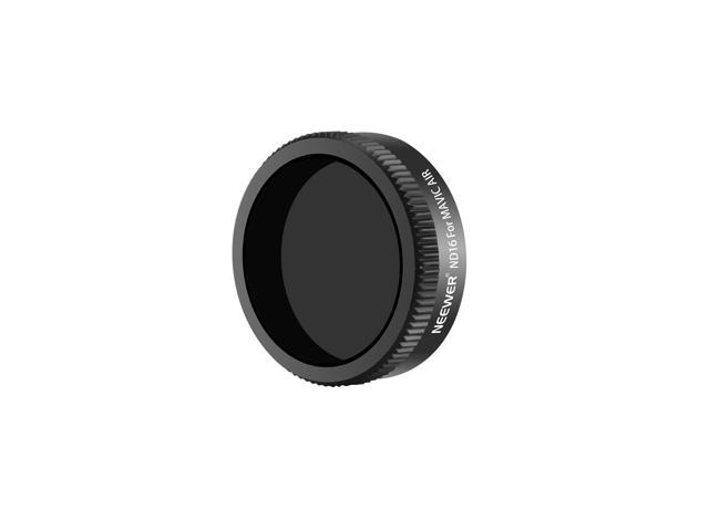 Multi Coated Neewer ND16 Lens Filter for DJI Mavic and Mavic Pro Quadcopter with Carrying Box Black Aluminum Alloy Frame Made of Optical Glass