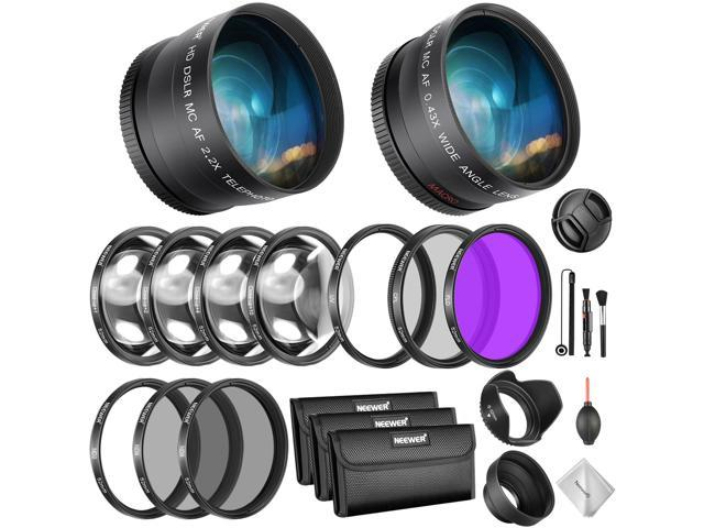 52mm Color Filter and UV CPL ND Accessory KIT NIKON D5300 D5200 D5100 D5000