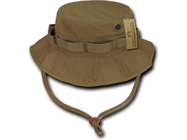 59891969825cd RapDom Ripstop Mens Boonie Hat  Coyote Brown - L  - Newegg.com