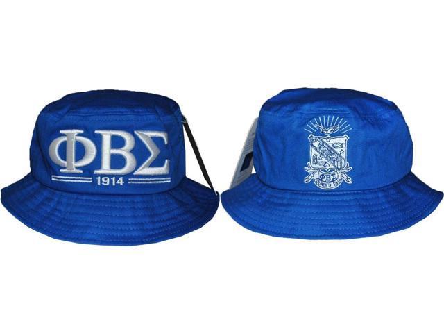 Phi Beta Sigma Divine 9 S3 Mens Bucket Hat  Royal Blue - 59 cm ... 54a926d9111