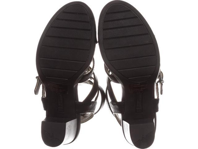 a3a95d3a75bb White Mountain Womens Gemmy Leather Open Toe Casual Strappy