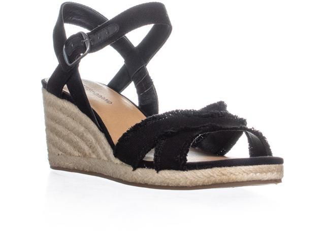8c60b8574 Lucky Brand Margaline Espadrille Wedge Sandals, Milk, 8.5 US / 38.5 ...