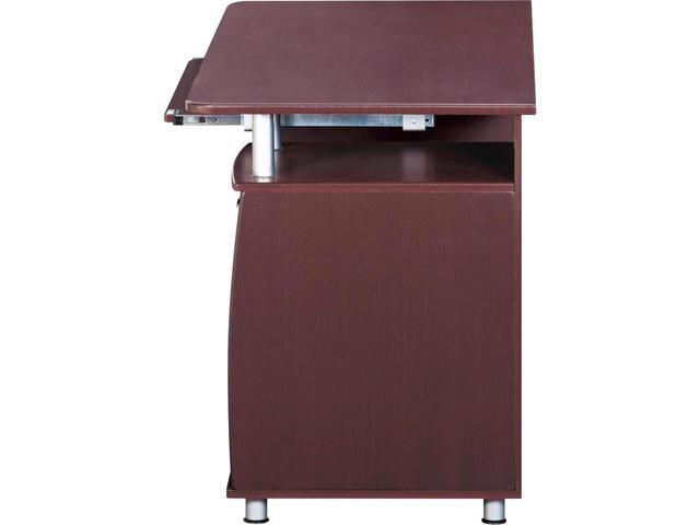 Incroyable Techni Mobili RTA 4985 CH36 Complete Computer Desk   Chocolate
