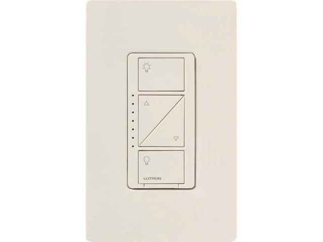 Lutron Caseta Wireless Smart Lighting Dimmer Switch (Light Almond) -  Newegg com