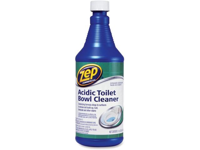 Zep Commercial Acidic Toilet Bowl Cleaner Newegg Com
