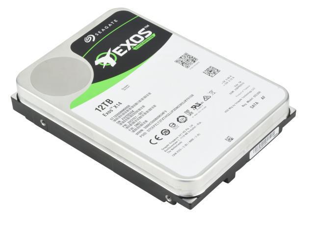 Seagate 12TB HDD Exos X14 7200 RPM 512e/4Kn SATA 6Gb/s 256MB Cache 3.5-Inch Enterprise Hard Drive (ST12000NM0008)