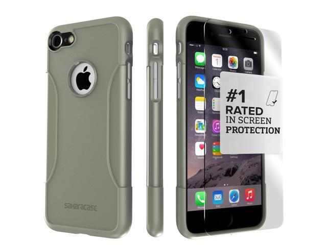 newest cedee ccd4b SaharaCase iPhone 8 Plus & 7 Plus Military Green Case, Classic Protective  Kit Bundle with ZeroDamage Tempered Glass - Newegg.com