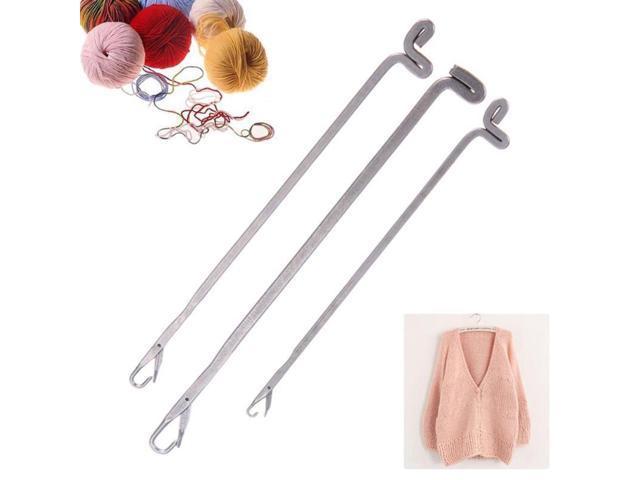 2pcs//Set Crochet Latch Hook Weaving Needles for Hair Micro Braid Dread Lock