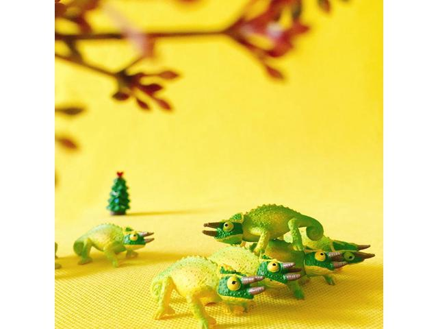 Miniature Green Frog DIY Craft Fairy Garden Dollhouse Ornament Bonsai Decor