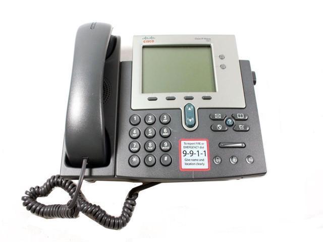 Used - Like New: Genuine Cisco IP Phone 7941 VoIP LCD Display Unified IP  Business Telephone CP-7941G - Newegg com