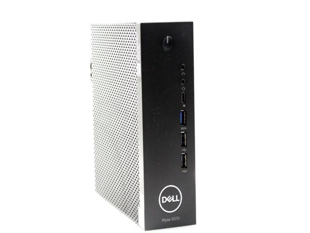 Refurbished: Dell Wyse 5070 Thin Client Intel Pentium Silver J5005 1 50 GHz  4 GB 16 GB SSD OS: ThinOS 8 0 Ethernet RJ45 & Wifi TGR61 - Newegg com