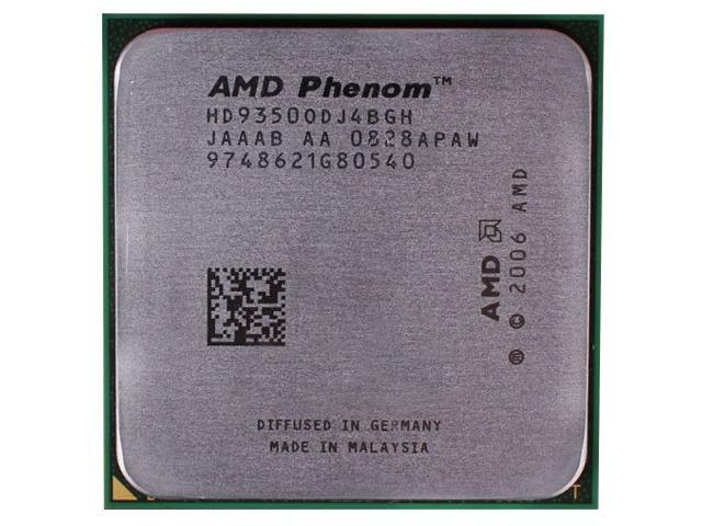Quad-Core CPU AMD Phenom X4 9350e 2.0GHz 4x512KB Socket AM2