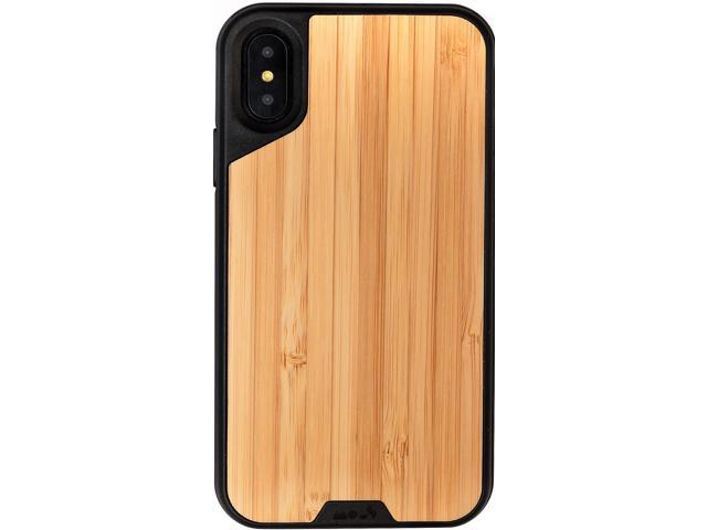sports shoes 142a4 f44c6 Mous iPhone X/XS Case - Real Bamboo Wood - Limitless 2.0 - Screen Protector  inc. - Newegg.com