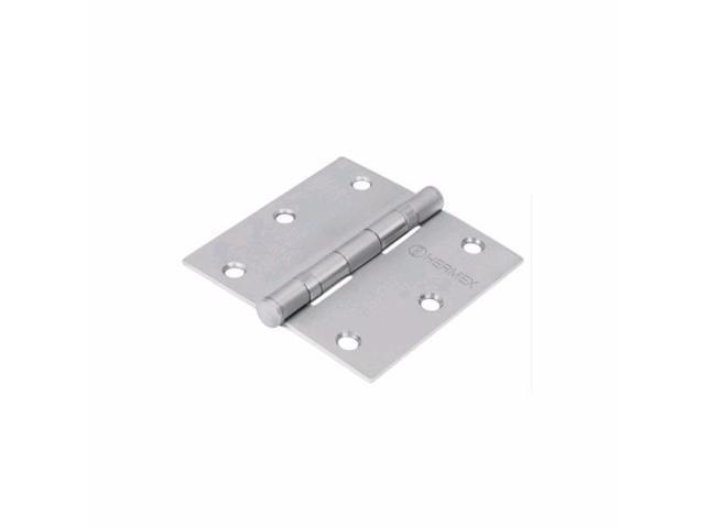 "National Hardware V514 2-1//2/"" Door Hinge in Stainless Steel"