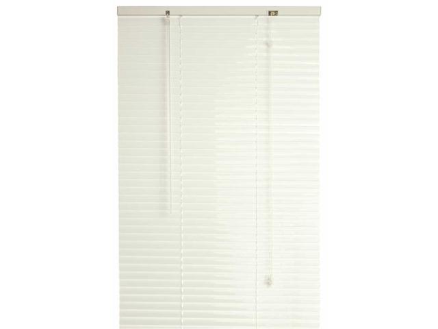 1 inch vinyl mini blinds light filtering designers touch 811703 1inch vinyl mini blinds alabaster 38x64 in blinds