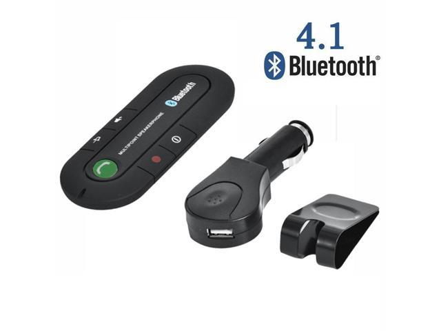 Connect Portable Multipoint Wireless HandsFree Bluetooth Sun Visor In-Car  Speaker Cell Phone Car Kit with Noise Cancellation & Bluetooth 4 1V Caller