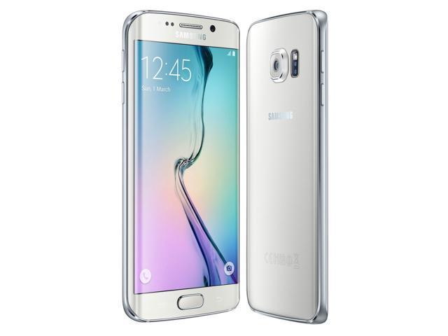 Samsung Galaxy S6 edge 32GB Verizon White Pearl SM-G925VZWAVZW - Newegg com