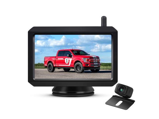 Auto-Vox W7 Digital Wireless Backup Camera 5'' Rear View Monitor on