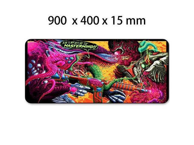 e90742918b5 Game 900x400mm Hyper Beast XL Large Locking Edge Gaming Mouse Pad CS GO  Keyboard Rubber Mousepad