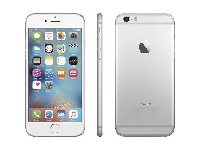 2d3e03c5125 Apple iPhone 6 MG4P2LL/A 16GB GSM/LTE AT&T iOS bloqueada, blanco
