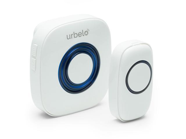 Urbelo 60-Chime Wireless Doorbell - Portable Plug-In Musical Door Bell  Buzzer Long Range Remote - Newegg com