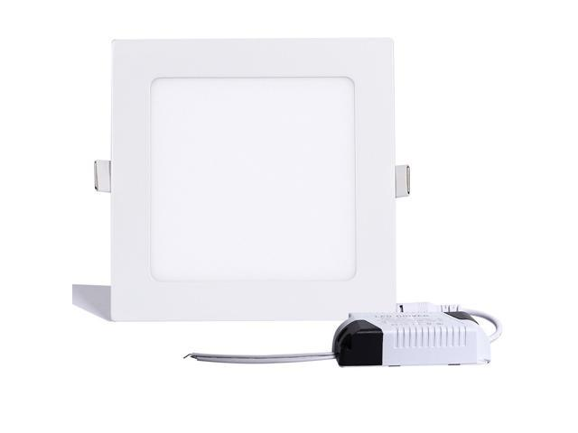 thg 9 inch square led panel light 18w 120w replacement 5000k