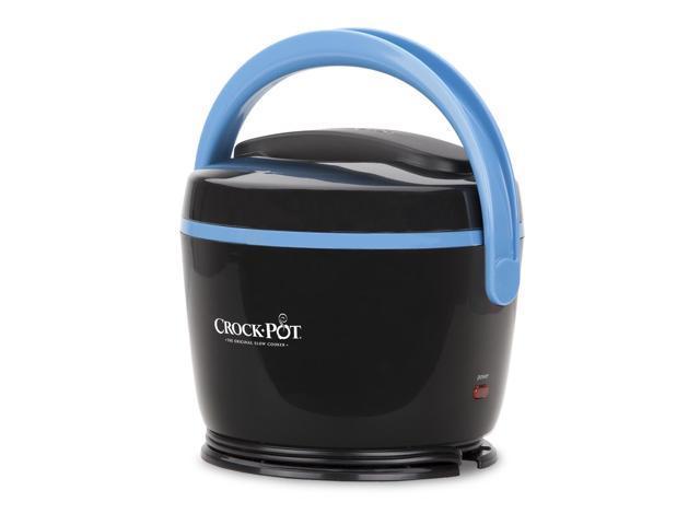 Crock Pot Lunch Crock 174 Food Warmer Black Amp Sky Blue