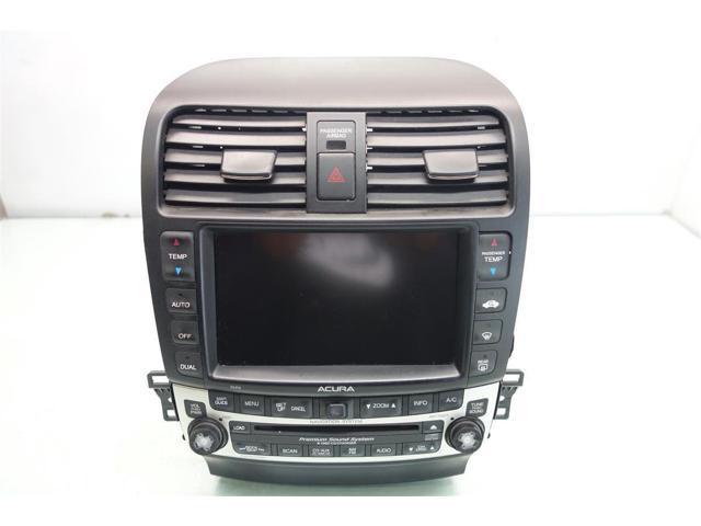 2007 acura tsx navigation display