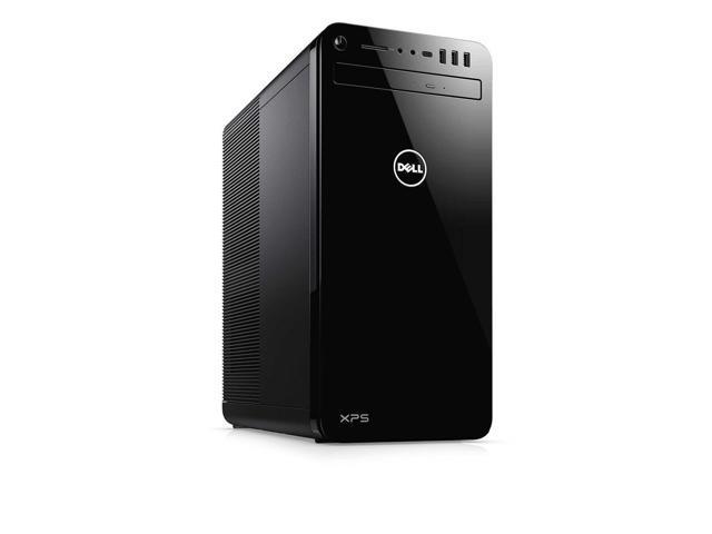 Dell XPS 8930 Tower Desktop, 8th Gen Intel 6-Core i7-8700 Upto 4 6GHz, 32GB  DDR4, 1TB SSD Plus 1TB HDD, DVD-RW, Wifi, Bluetooth, Dual Monitor Capable,