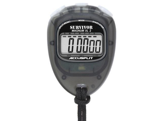 S3E EVENT Stopwatch with Magnum Display ACCUSPLIT Survivor
