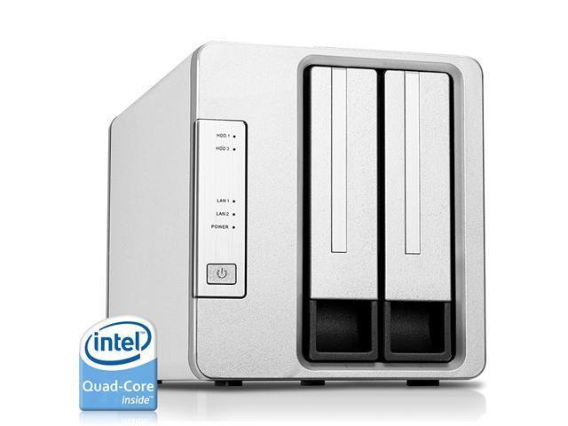 Timer Luci Scale Prezzo.Terramaster F2 420 Nas Server 2 Bay Intel Quad Core 2 0ghz 4gb