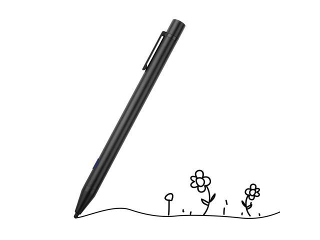 Active Stylus Pen for iPhone iPad iOS USB Rechargeable Metal Universal  Capacitive Drawing Pens for Samsung LG Android Kindle Mobile Phones Tablets
