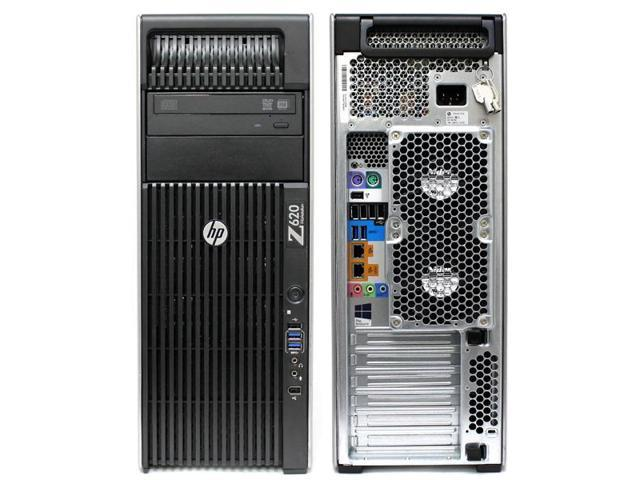 Refurbished: HP Z620 Workstation D3J44UT 2x Intel Xeon E5-2620 2 0GHz/ 16GB  RAM / 1TB HDD /Win10/ No Video Card - Newegg com