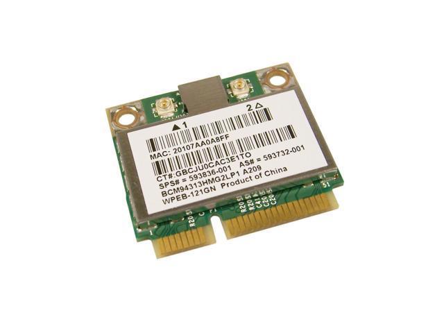 GENUINE HP 80211a B G WPEB 121Gn G4 WiFi Card 593732 001 BCM94313HMG2LP1