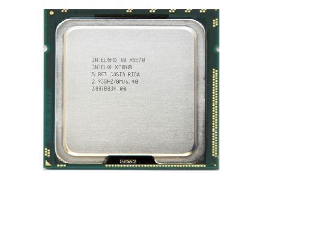Genuine INTEL XEON QUAD CORE PROCESSOR CPU SLBF3 X5570 293GHZ 8MB