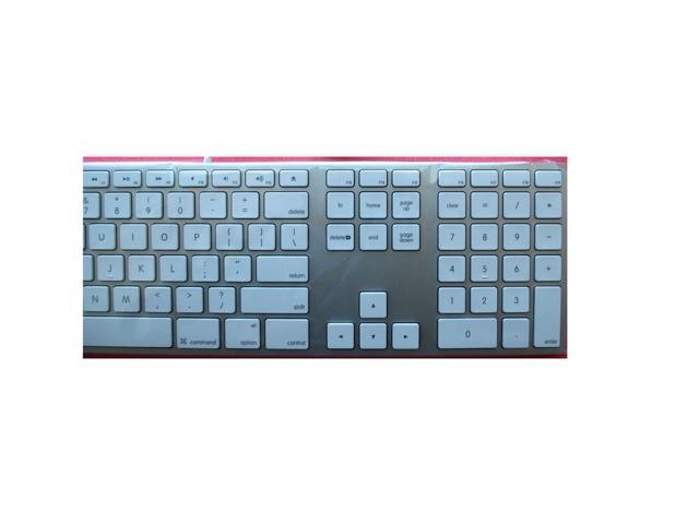 Apple Genuine USB Wired Version Keyboard MB110LLB A1243 Aluminum ...