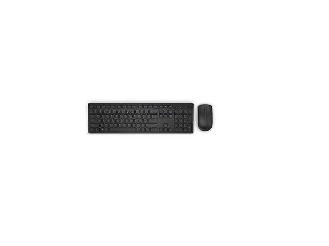 oem dell wireless keyboard and mouse combo xf89j km636 black. Black Bedroom Furniture Sets. Home Design Ideas