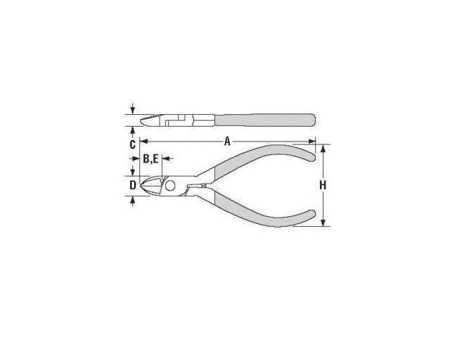 Channellock E41s 4 Little Champ Side Cutting Plier High Carbon