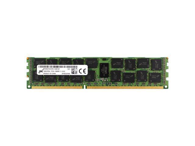 MT36KSF2G72PZ-1G6E1HE MICRON 16GB 2RX4 PC3L 12800R DDR3 1600MHZ ECC REG MEMORY