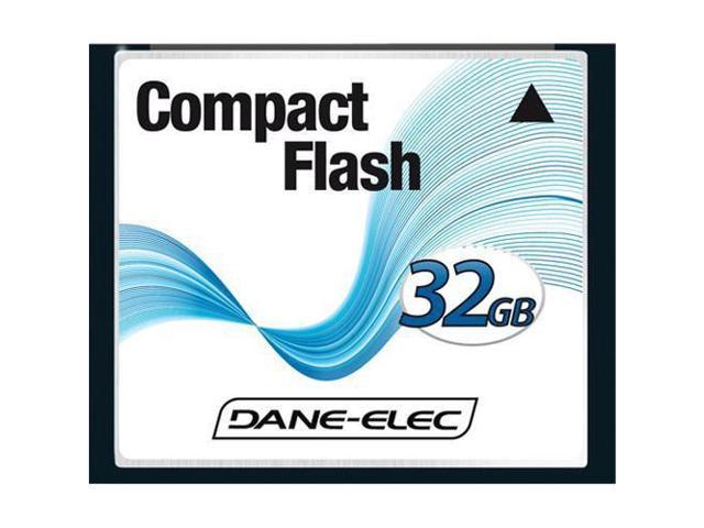 Dane-Elec 32GB Compact Flash Memory Card for Canon EOS 20D 30D 40D -  Newegg com