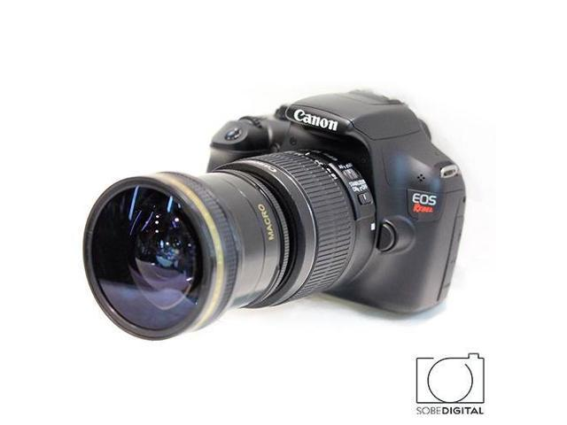 X17 EXTREME WIDE ANGLE LENS FOR CANON EOS REBEL 1000D 1100D 1200D T6I T5I  T3I - Newegg com