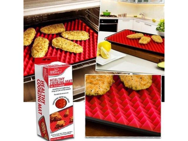 Silicone Baking Mat Pyramid Cone Pan Cooking Liner Tray