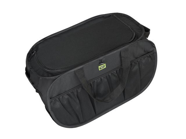 Pro Mart Smart Design Pop Up Trunk Organizer Black Neweggcom