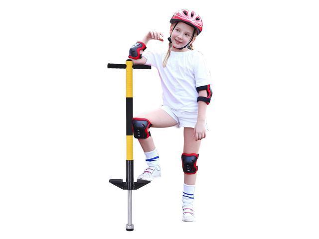 Single Pogo Stick Jackhammer Jump Stick Toy Gift Kids Children Balance Training