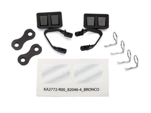 Traxxas 8073 side Mirrors black (2) TRX-4 Ford Bronco - Newegg com