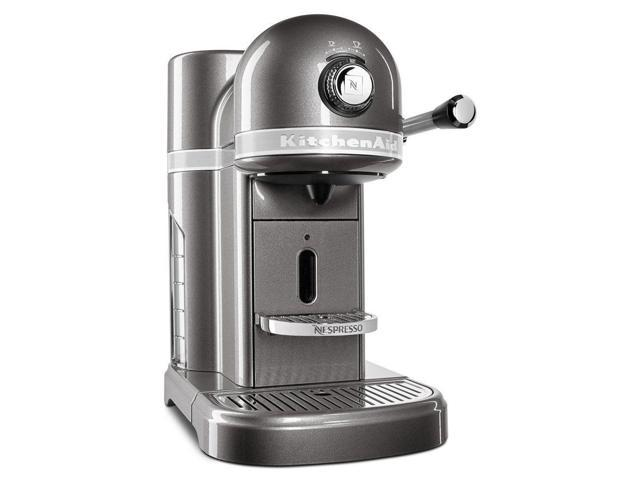 KitchenAid Nespresso R KES0503MS Instnt Espresso Coffee Machine Medallion  Silver