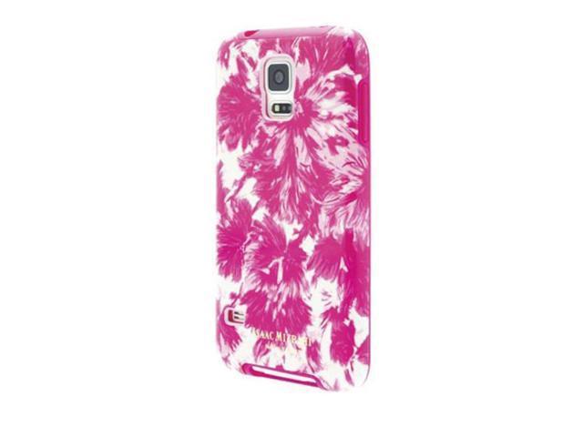huge discount bf827 476be SEALED NEW CO8920 Isaac Mizrahi Samsung Galaxy S5 Pink Floral Designer Hard  Case - Newegg.com